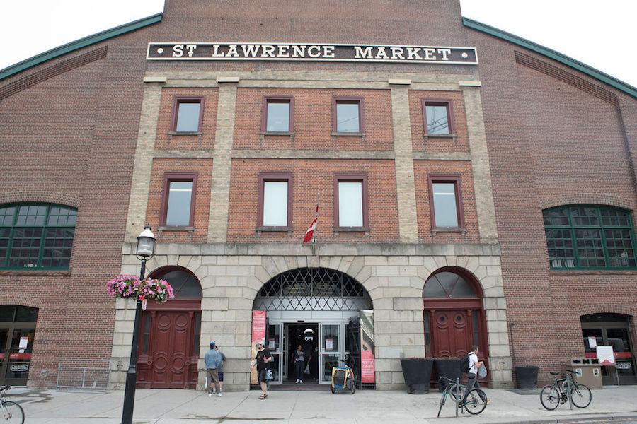 A photo of the St. Lawrence Market in Toronto