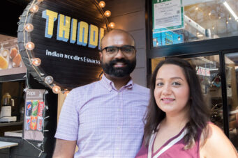 Thindi owners Anuja Mehta and Abhilash Achar, opened a new restaurant in Toronto