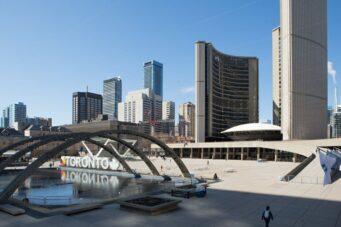 A photo of Toronto City Hall