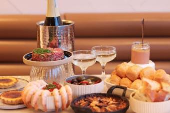 A photo of La Palma's New Year's Eve menu, one of 12 Toronto restaurants offering NYE menus