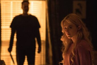 Vince Vaughn and Kathryn Newton in a still from Freaky