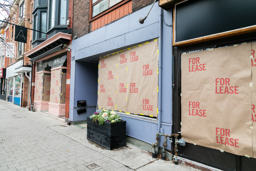 Roncesvalles Not For Lease campaign draws attention to support local movement