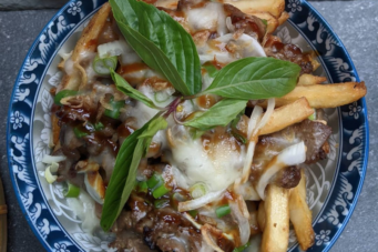 The photine from Dzo Viet Eatery, available during National Poutine Week