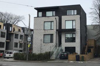 Toronto real estate missing middle multiunit residence