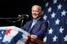 A photo of U.S. president-elect Joe Biden