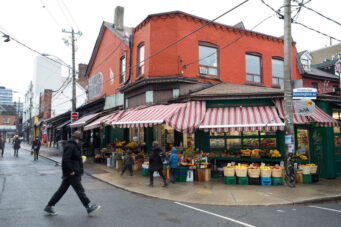 A photo of Kensington Market in Toronto