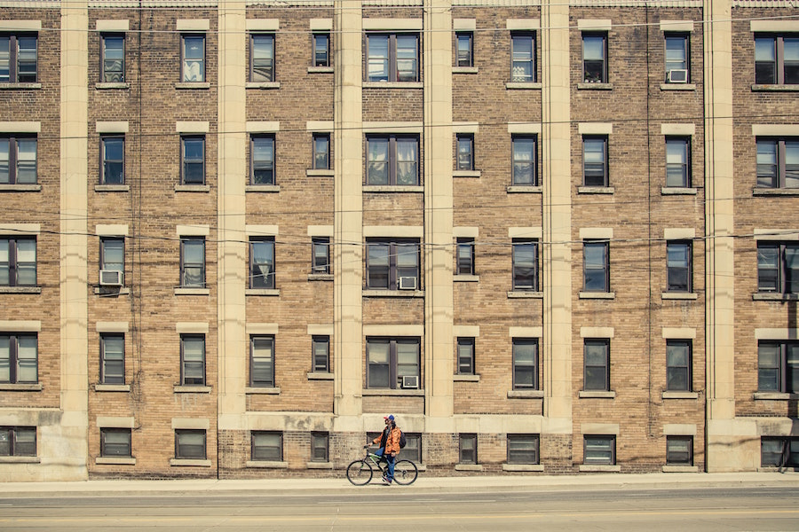 A photo of an apartment building in Parkdale