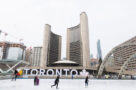 Nathan Phillips Square skating rink city hall January 15 2021