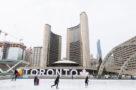Nathan Phillips Square skating rink city hall January 15 2021
