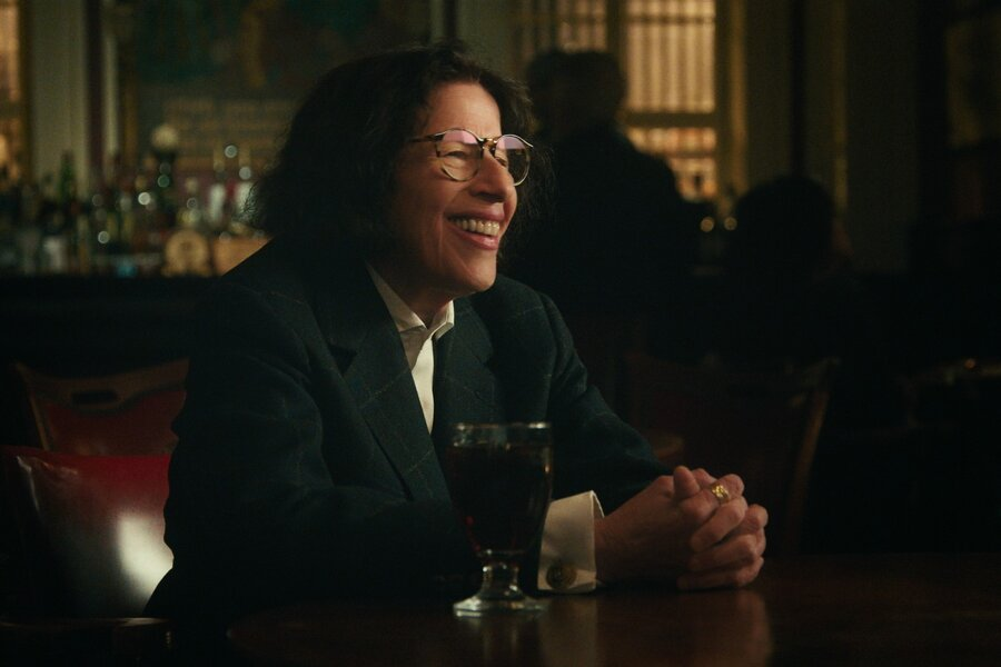 Fran Lebowitz in the Netflix series Pretend It's A City