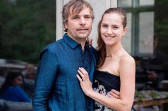 A photo of Rodney Baker and Ekaterina