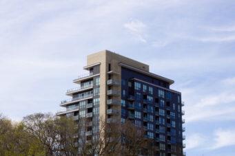 A photo of a Toronto apartment