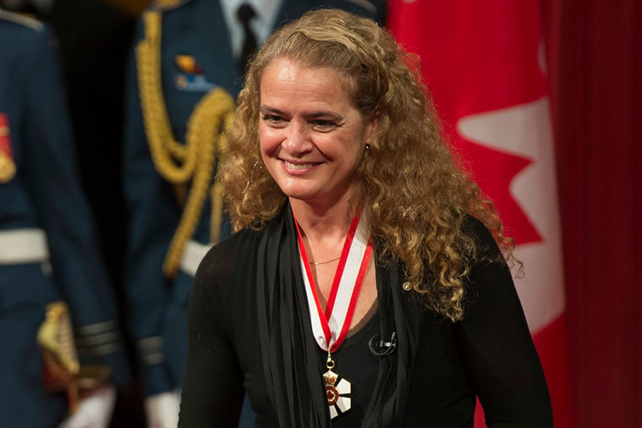 A photo of Julie Payette