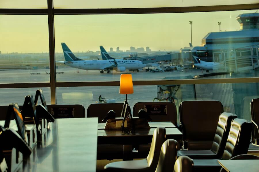 A photo of Toronto Pearson Airport