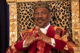 A photo of Eddie Murphy in Coming 2 America, premiering in March 2021 on Amazon Prime Video Canada