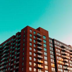 Apartment building in Scarborough Toronto