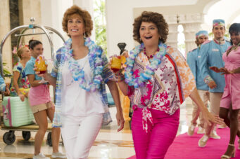 An image of Kristen Wiig and Annie Mumolo in Barb & Star Go To Vista Del Mar