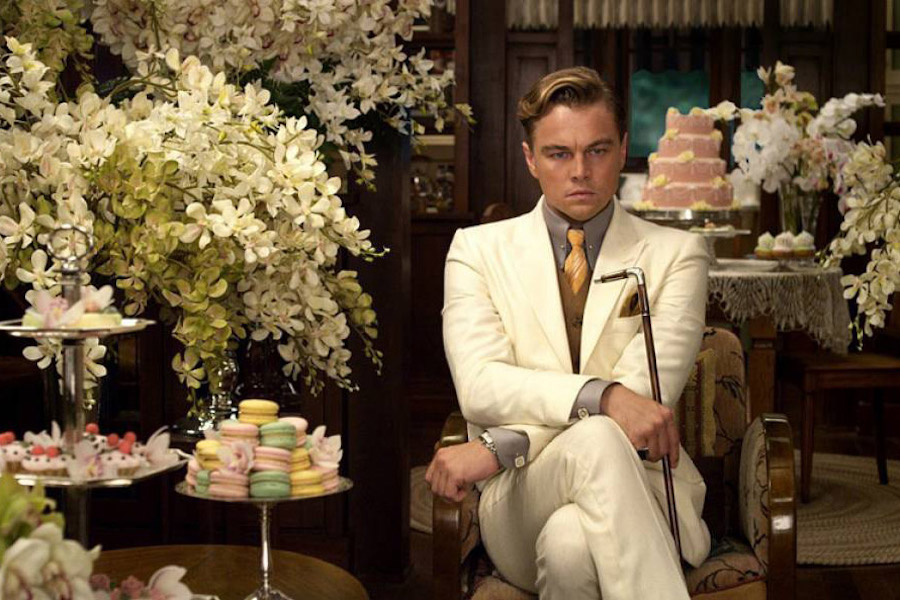 Leonardo DiCaprio played in a 2013 movie the role of the ambitious character in F. Scott Fitzgerald's novel The Great Gatsby.