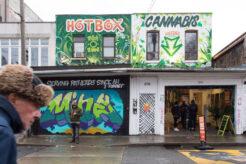 The HotBox cannabis dispensary in Kensington Market