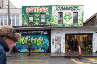 The HotBox cannabis dispensary in Kensington Market