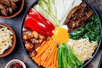 Dolsot bibimbap at Ka Chi, one of the best Toronto comfort food dishes