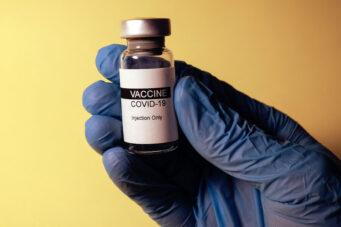 A photo of a COVID-19 vaccine