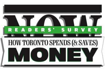 A graphic for NOW readers' survey on money and personal finance