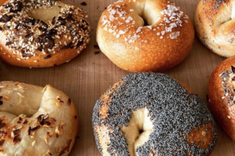 A photo of gales by Babeos Bagels, a new homemade bagel shop