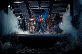Justice League heroes assemble in an image from the Snyder Cut