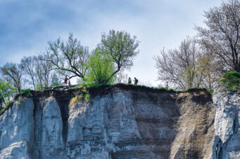 A photo of the Scarborough bluffs, representing the Final Frontier in Toronto real estate