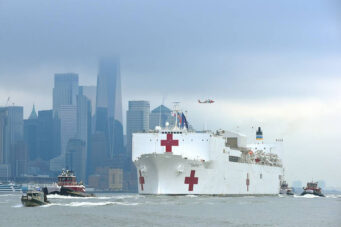 USNS Comfort New York