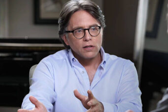 A photo of NXIVM leader Keith Raniere