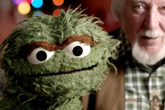 A photo of Oscar the grouch