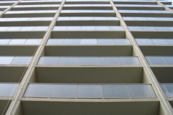 A photo of apartment balconies in Toronto