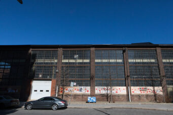 A photo of the Foundry buildings in Toronto