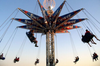 The Swing Tower at the CNE