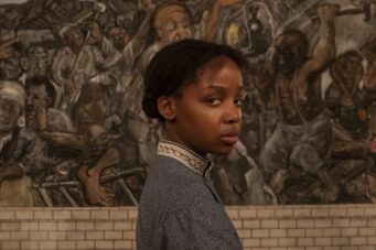 An image of Thuso Mbedu in The Underground Railroad, which we call beautiful in our review