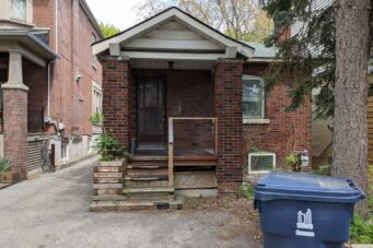 This house is listed for $1.2 million in the Toronto real estate market