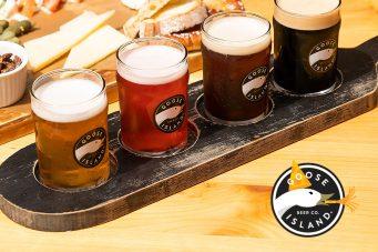 Goose Island Beer Flight