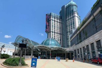 Fallsview Casino in Niagara Falls, which has remained empty for 16 months, is now ready to take your bets.