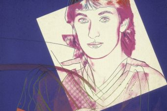 Wayne Gretzky (1984), a screenprint on paper by Andy Warhol. Sheet: 111.5 x 81.3 cm. Art Gallery of Ontario. Gift of Robert Daniel Scarabelli, 1987. © 2021 The Andy Warhol Foundation for the Visual Arts, Inc / Licensed by Artists Rights Society (ARS), New York / SOCAN.