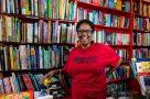 A Different Booklist co-owner Itah Sadu runs the book shop like a cultural centre.
