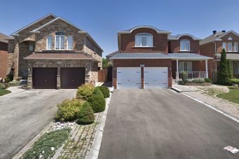 Homes in Vaughan, where Toronto area real estate agents were caught